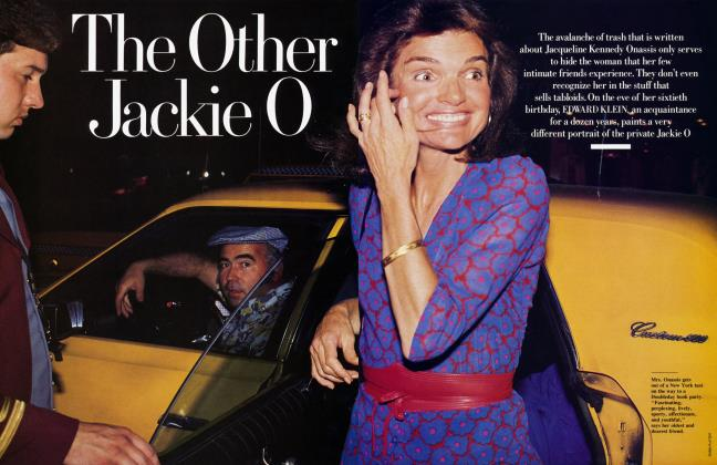 Article Preview: The Other Jackie O, August 1989 1989 | Vanity Fair