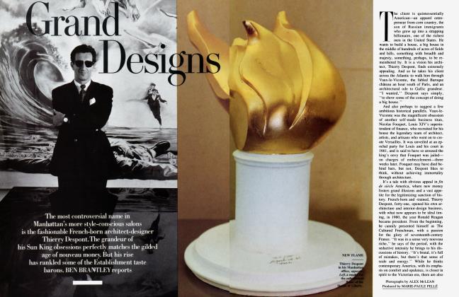 Article Preview: Grand Designs, August 1989 | Vanity Fair