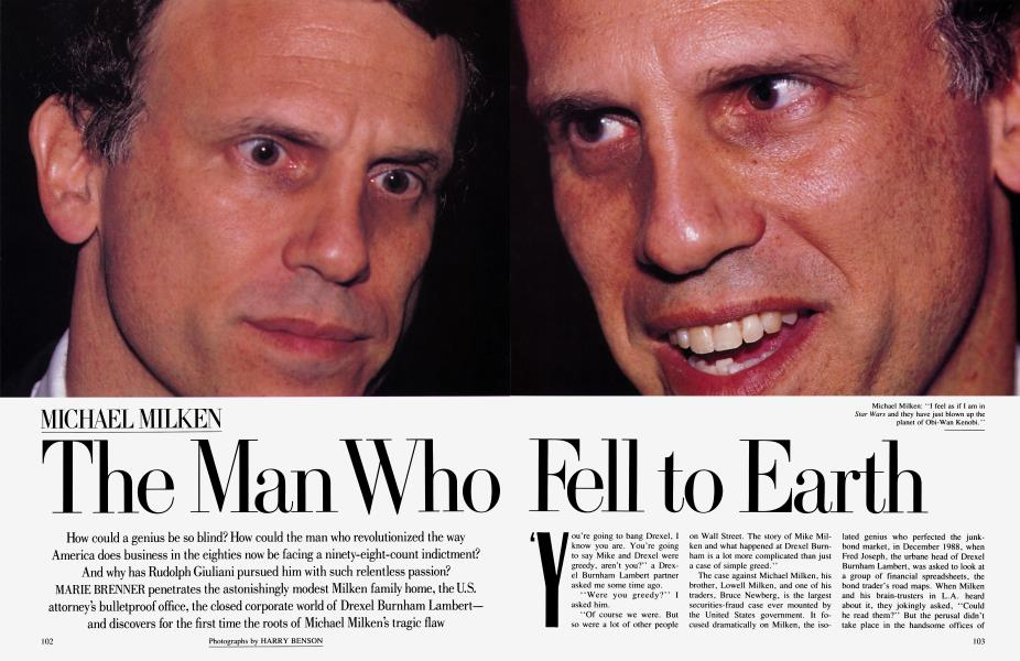 MICHAEL MILKEN The Man Who Fell to Earth