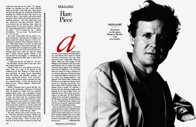 Article Preview: Hare Piece, September 1989 1989 | Vanity Fair