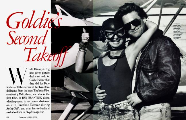 Article Preview: Goldie's Second Takeoff, September 1989 1989 | Vanity Fair