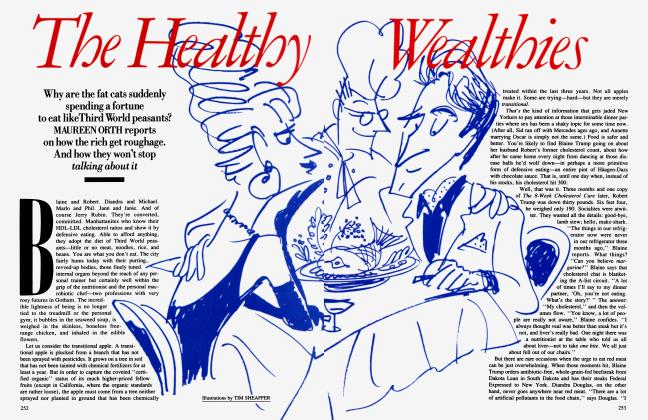 Article Preview: The Healthy Wealthies, September 1989 1989 | Vanity Fair