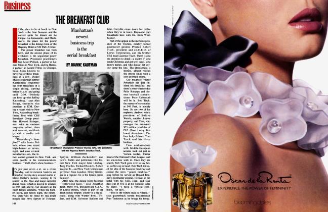 Article Preview: THE BREAKFAST CLUB, September 1989 1989 | Vanity Fair