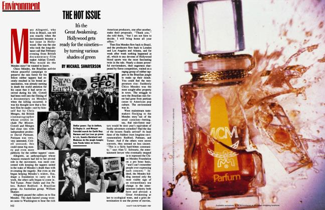 Article Preview: THE HOT ISSUE, September 1989 1989 | Vanity Fair