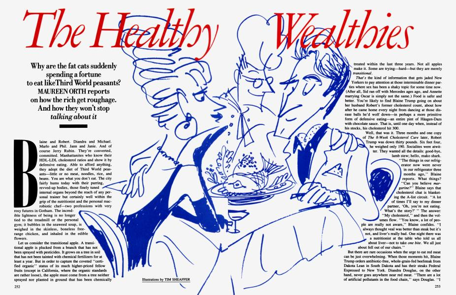 The Healthy Wealthies