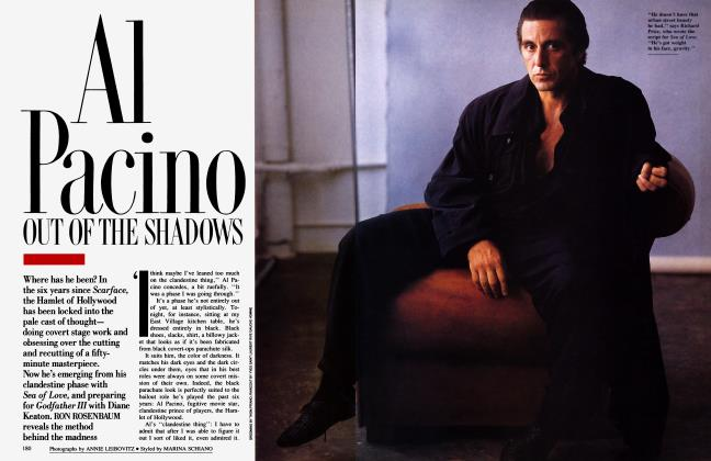 AL PACINO: OUT OF THE SHADOWS