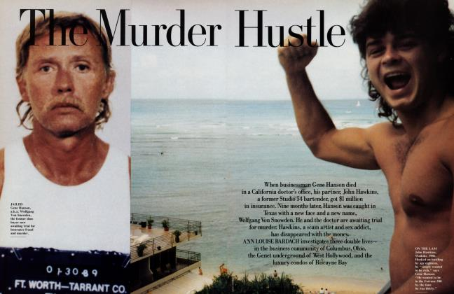Article Preview: The Murder Hustle, October 1989 1989 | Vanity Fair