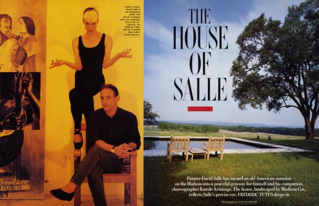 Article Preview: THE HOUSE OF SALLE, October 1989 1989 | Vanity Fair