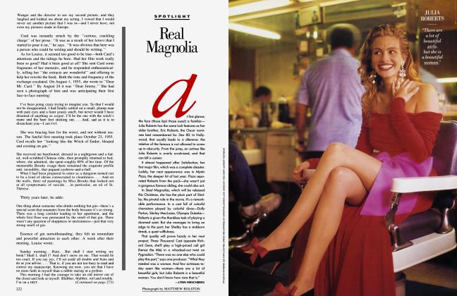 Article Preview: Real Magnolia, October 1989 1989 | Vanity Fair
