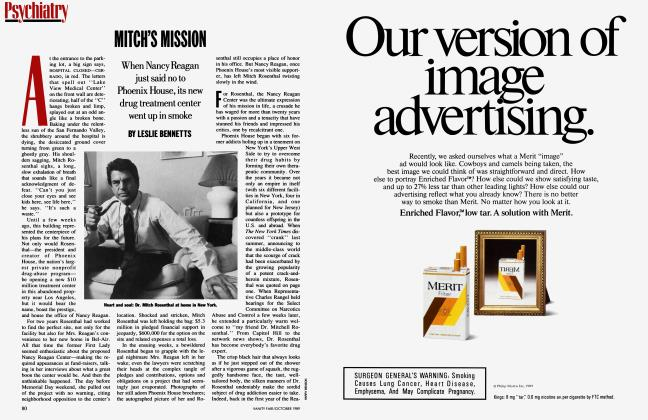 Article Preview: MITCH'S MISSION, October 1989 1989 | Vanity Fair