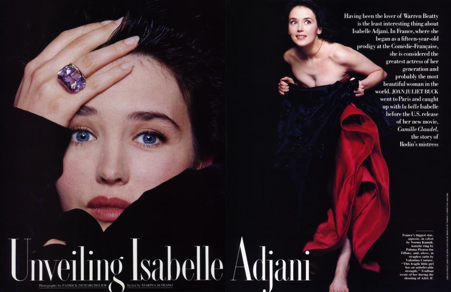 Unveiling Isabelle Adjani