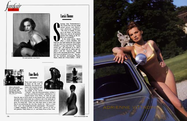 Article Preview: Fine Herb, November 1989 1989 | Vanity Fair