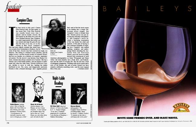 Article Preview: Campion Class, November 1989 1989 | Vanity Fair