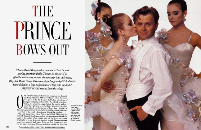 Article Preview: THE PRINCE BOWS OUT, November 1989 1989 | Vanity Fair