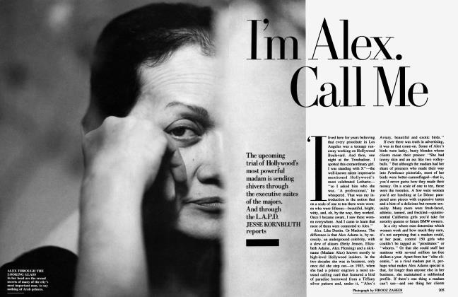Article Preview: I'm Alex. Call Me, November 1989 1989 | Vanity Fair