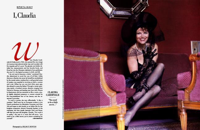 Article Preview: I, Claudia, November 1989 1989 | Vanity Fair
