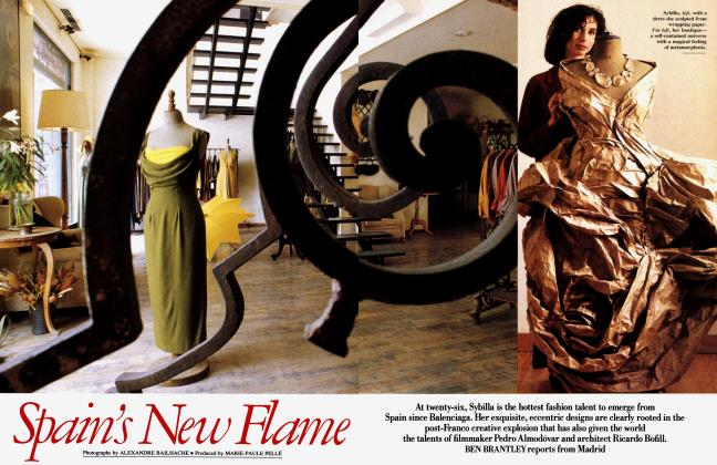Article Preview: Spain's New Flame, November 1989 1989   Vanity Fair