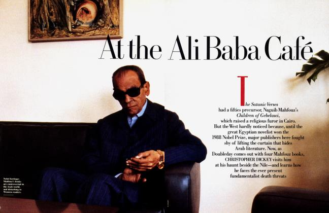 Article Preview: At the Ali Baba Café, November 1989 1989 | Vanity Fair
