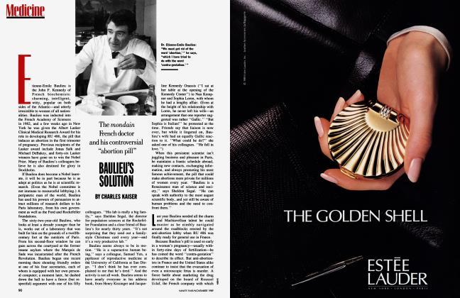 Article Preview: BAULIEU'S SOLUTION, November 1989 1989 | Vanity Fair