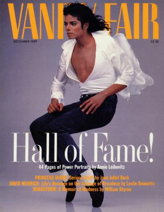 Cover for the December 1989 issue