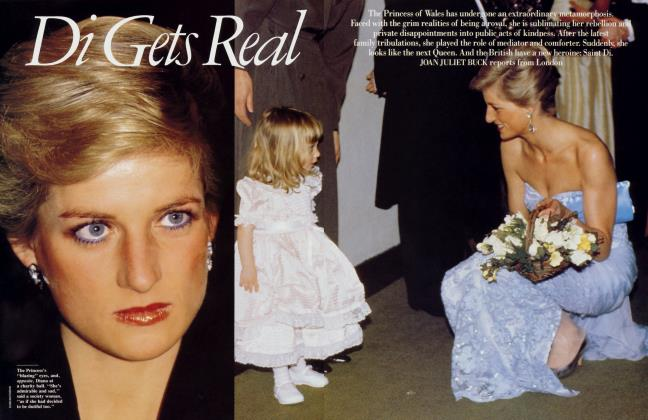 Article Preview: Di Gets Real, December 1989 | Vanity Fair