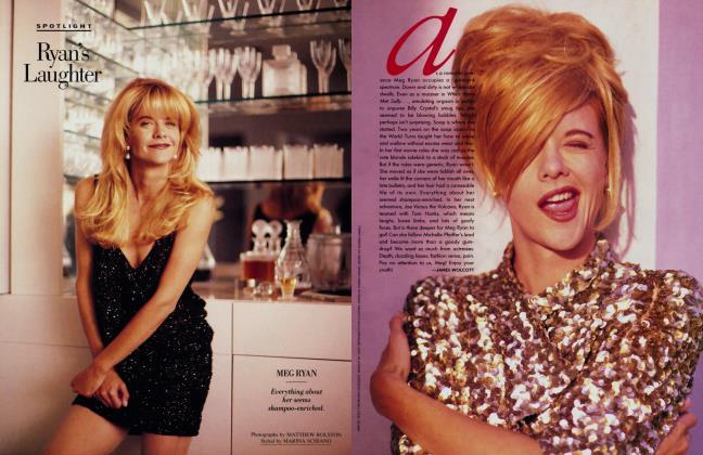 Article Preview: Ryan's Laughter, December 1989 1989 | Vanity Fair