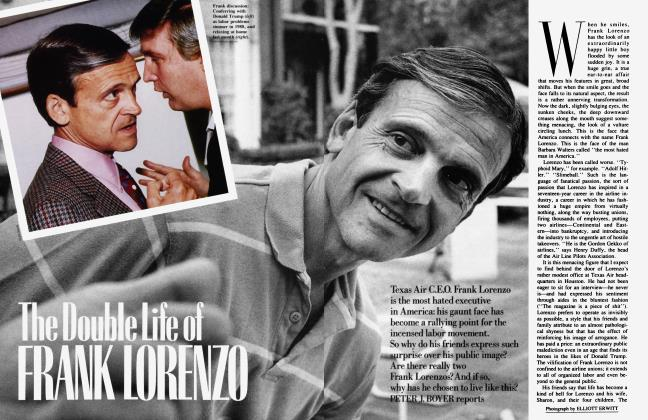Article Preview: The Double Life of FRANK LORENZO, December 1989 | Vanity Fair
