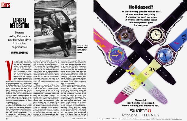 Article Preview: LAFORZA DEL DESTINO, December 1989 1989   Vanity Fair