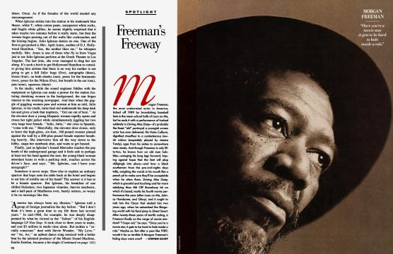 Freeman's Freeway - January | Vanity Fair