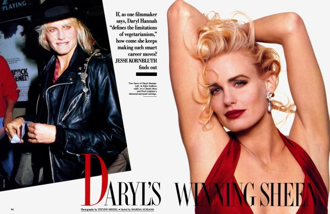 Article Preview: DARYL'S WINNING SHEEN, January 1990 | Vanity Fair