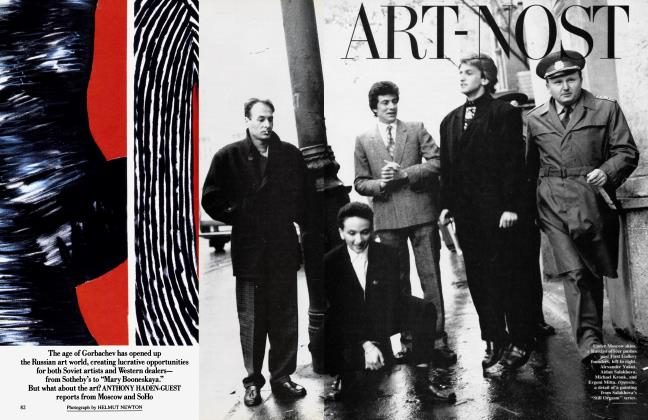 Article Preview: ART-NOST, January 1990 | Vanity Fair