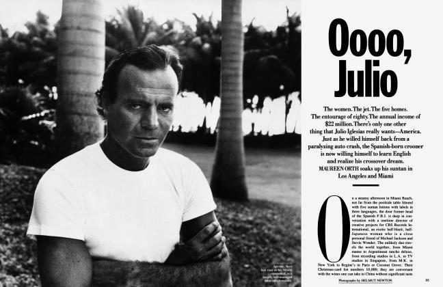 Article Preview: Oooo, Julio, January 1990 1990 | Vanity Fair
