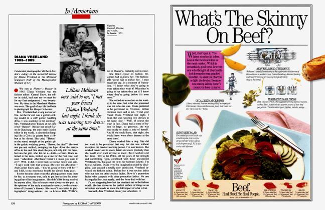 Article Preview: DIANA VREELAND 1903-1989, January 1990 1990 | Vanity Fair