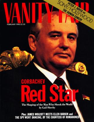 February 1990 | Vanity Fair