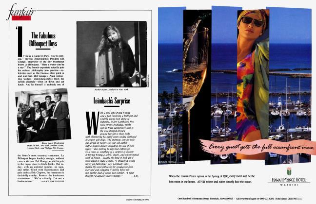 Article Preview: The Fabulous Bilboquet Boys, February 1990 1990 | Vanity Fair
