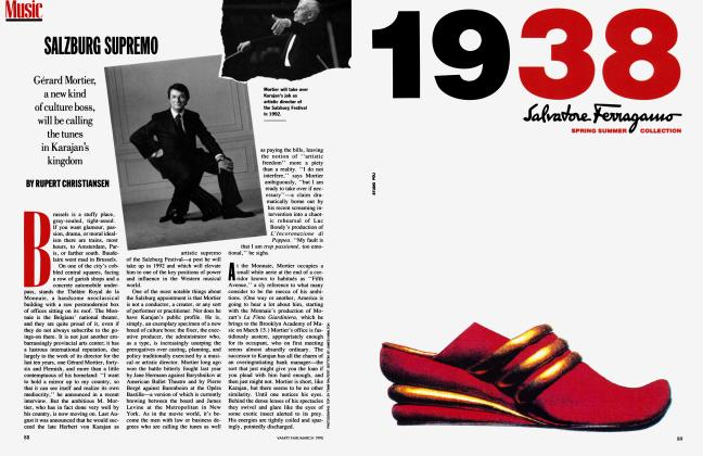 Article Preview: SALZBURG SUPREMO, March 1990 1990 | Vanity Fair
