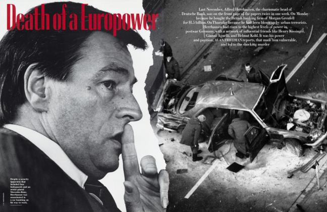 Article Preview: Death of a Europower, March 1990 1990 | Vanity Fair