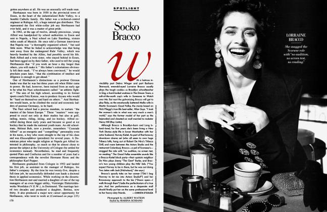 Article Preview: Socko Bracco, March 1990 1990 | Vanity Fair