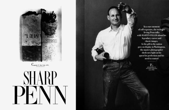 Article Preview: SHARP PENN, March 1990 1990 | Vanity Fair