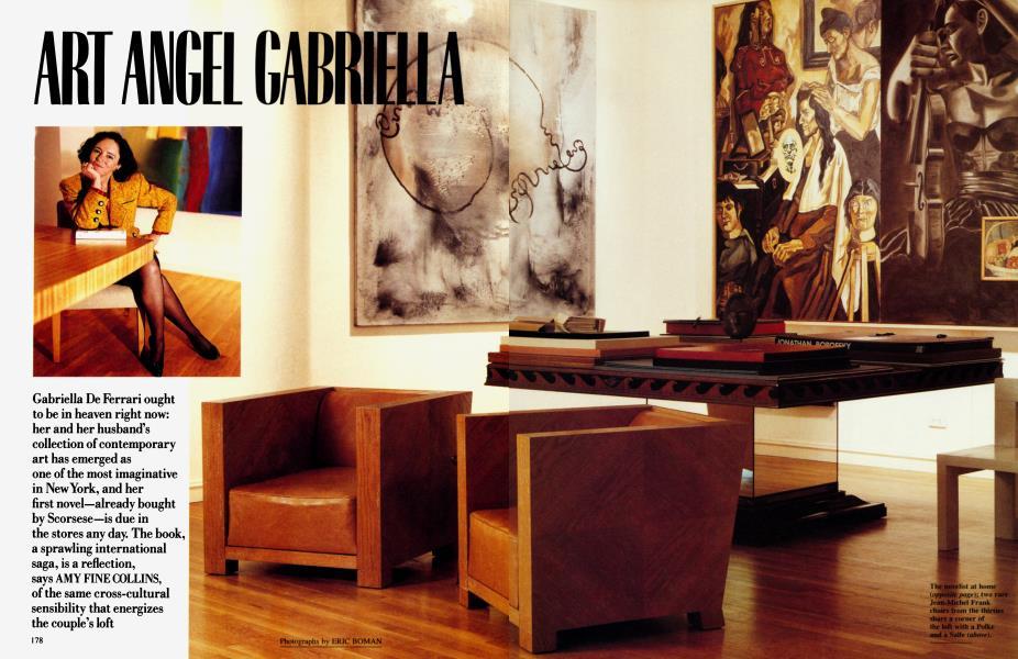 ART ANGEL GABRIELLA