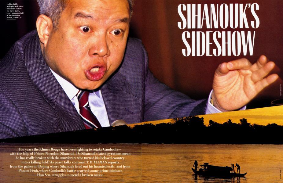 SIHANOUK'S SIDESHOW