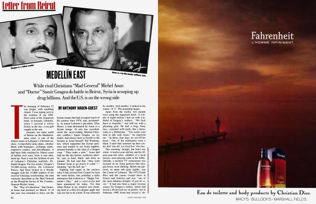 Article Preview: MEDELLÍN EAST, May 1990 1990   Vanity Fair