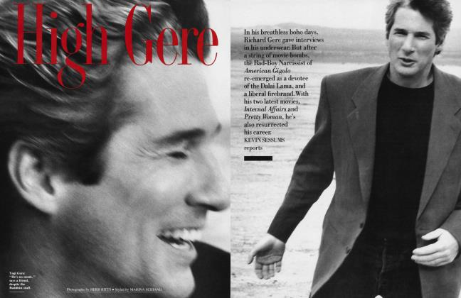 Article Preview: High Gere, May 1990 | Vanity Fair