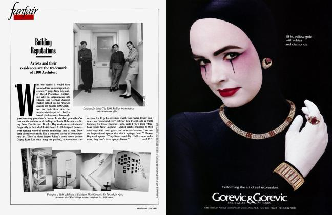 Article Preview: Building Reputations, June 1990 1990 | Vanity Fair