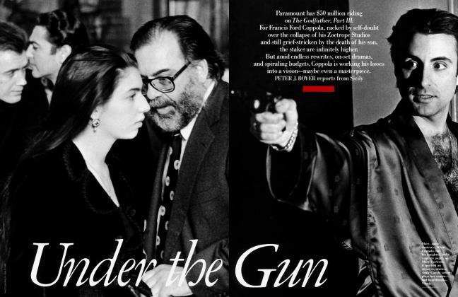 Article Preview: Under the Gun, June 1990 1990 | Vanity Fair