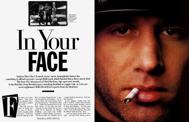 Article Preview: In Your FACE, June 1990 1990 | Vanity Fair