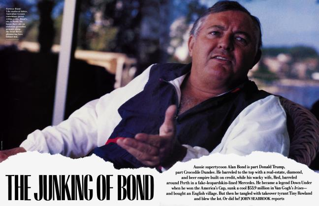 THE JUNKING OF BOND