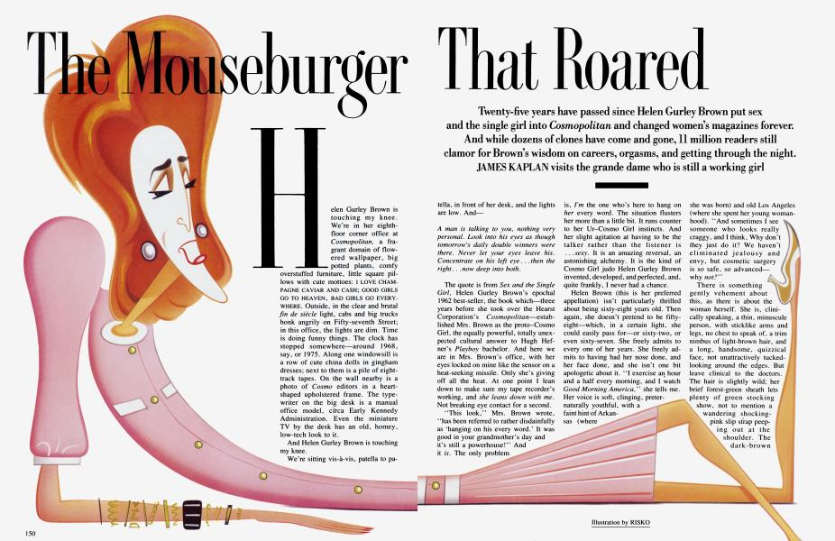 The Mouseburger That Roared