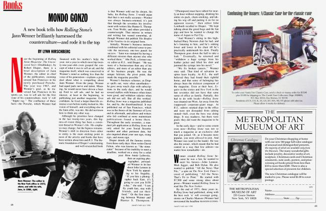 Article Preview: MONDO GONZO, July 1990 1990 | Vanity Fair