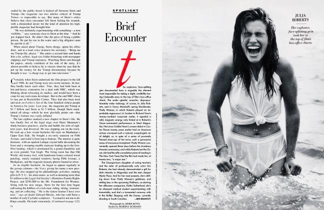 Article Preview: Brief Encounter, July 1990 1990 | Vanity Fair